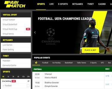 Pari-Match Online Sportsbook Review